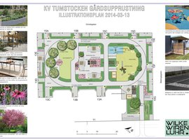 illustrationsplan Tumstocken